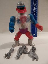 He-Man Masters Universe MOTU ROBOTO Complete Firm legs Stands Holds Great Paint