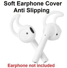 2pcs, EarPods Covers earbuds tips for Apple iPhone 5 6 7 8 X, 10 Headset 1 pairs