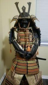 Authentic Japanese  Traditional Samurai Armor Wearable