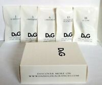 5 vials Collection Set D & G Dolce & Gabbana eau de toilette 1.5 ml / 0.05 oz ea