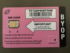 NET10 Nano SIM Card for The iPhone 5 Unlimited T-mobile Network Towers