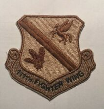 111th Fighter Wing (PaANG) 103FS Authentic Desert Uniform Patch A-10 Warthog P51
