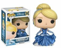 Rare Metallic Shimmering CINDERELLA Funko Pop Vinyl New in Mint Box + Protector