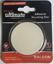 Naleon Adhesive Mounting disc x1 use with Ultimate or Instaloc Suction Products