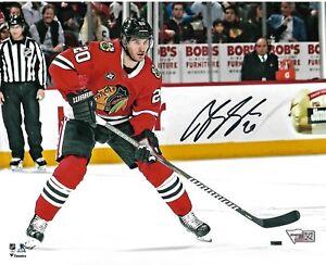BRANDON SAAD signed autographed CHICAGO BLACKHAWKS 8X10 photo NHL Fanatics
