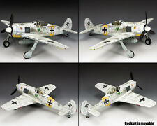 KING AND COUNTRY Focke-Wulf 190A-4 (Winter) WW2 LW062
