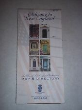 Road Map - Welcome to New England - 2000-01 - Northern Cartographic