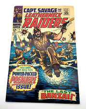 Captain Savage And His Leatherneck Raiders #1 (1968)  App SGT. FURY!