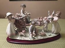 Lladro 01797 Enchanted Outing.Hand Signed.Perfect Condition.Large.Original Box
