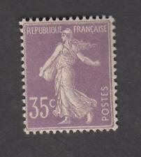 France - Timbre Neuf ** - Semeuse  N°136 Violet clair - TB