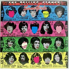 """NEW & Sealed! The Rolling Stones """"Some Girls"""" LP Vinyl Record Free Shipping"""