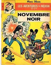 LES AVENTURES DE NERON NOVEMBRE NOIR MARC SLEEN 1973