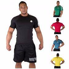 Gorilla Wear Stretch Tee T-Shirt One Size Bodybuilding Fitness