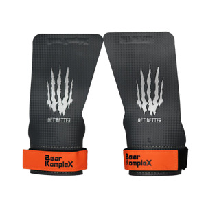 Bear KompleX Carbon Comp Grips | No Hole | CrossFit Pull-up Gym Gloves