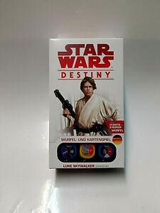 """Star Wars Destiny - """"Luke Skywalker"""" Starter Set OVP"""