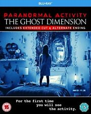 Paranormal Activity: The Ghost Dimension [Blu-ray] [2015] [DVD][Region 2]