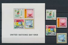 LN88214 Ghana 1968 united nations fine lot MNH