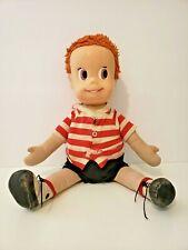Vintage Pull String Matty Talking Boy Doll~ 960'S Mattel - Works Garbled Speech