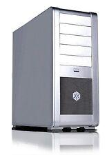 SilverStone FT01S Aluminum ATX Mid Tower Uni-Body Computer Case(Silver)