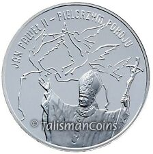 Poland 2005 Pope John Paul II Pilgrim of Peace Silver Proof Medal Jan Pawel Box