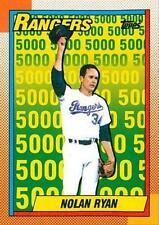 1990 Topps Nolan Ryan Texas Rangers #5 Baseball Card