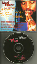 MAXI PRIEST & BEENIE MAN Mary Got a baby 7 TRX MIXES PROMO DJ CD Single Neptunes
