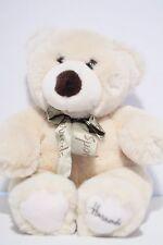 Harrods Knightsbridge Teddy Bear Plush Toy Doll (Green Neck Ribbon)
