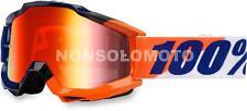 Occhiali Cross Enduro Quad 100% Accuri Wilsonian Arancione