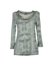 BLUMARINE UNDERWEAR T-shirt donna Tg 44 Tg III NEW verde acqua SALDO