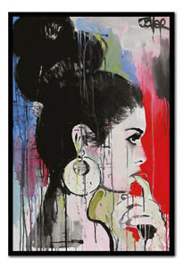 Loui Jover Planets Art Poster Magnetic Notice Board Inc Magnets