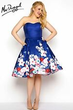 Mac Duggal 65969F Short Evening Dress ~LOWEST PRICE GUARANTEE~ NEW Authentic NWT