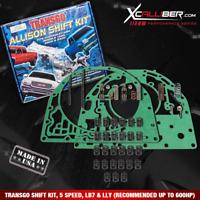 Allison Shift Kit HP Lock-UP Valve 04-10 1000-2000 Transgo A1LU-BST-04 T121507AK