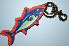 Paul Smith Mens Tuna Leather Keyring Brand New