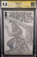 IMAGE Comics WALKING DEAD #1 CGC SS 9.8 Greg Horn Variant Kirkman AMC Zombies