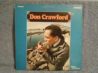 DON CRAWFORD VINYL LP RECORD VERVE FOLKWAYS FTS-3002