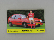 Cemal Yilmaz Psv 1987 1988 soccer Philips Opel used rare postcard