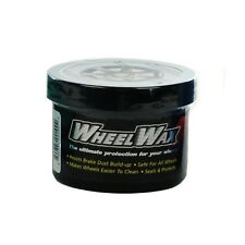 WheelWax Clean Polish Protect Rims Repel Wheel Wax Brake Dust Shine Cleaner 8oz