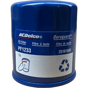 ACDelco PF1233 Engine Oil Filter For Prizm Tracker Vibe 1.6L 1.8L 2.0L OEM