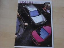 52162) Renault Megane + Classic Prospekt 07/1999