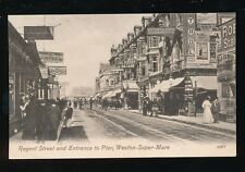 Somerset WESTON-SUPER-MARE Regent St Fears Dining Rooms c1900s? PPC by Valentine