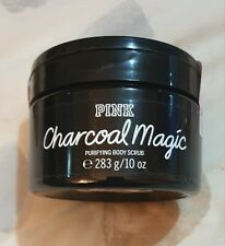 Victoria's Secret PINK New Charcoal Magic Purifying Body Scrub 283g