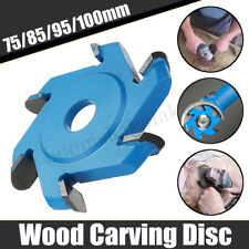 75-100mm Power Wood Carving Disc Hexagonal Blade Cut For 100/115 Angle h