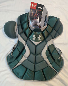 Under Armour Professional Adult Catcher Chest Protector 16.5inch Dark Green