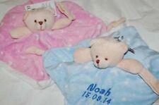 Baby-Kuscheldecken mit Teddybären-Motiv