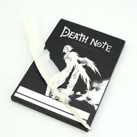 Collectable Death Note Anime Cosplay Notebook & Feather Pen NoteBook Writing