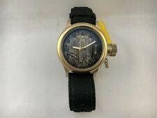 Invicta Men's Watch Quartz Russian Diver Model 17166 Shark Leather Band