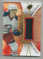 2016-17 UD SPX Rookies Red #RSM Sonny Milano Columbus Blue Jackets 162/235 JSY