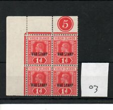 Virgin Is.  (03) - George V- 1916- .1d  red - control block - mint