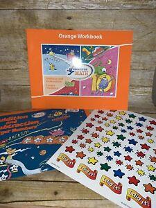 Hooked on Math Addition Subtraction Replacement Orange Workbook & Progress Chart