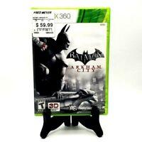 Batman Arkham City Microsoft Xbox 360 Factory Sealed DC Warner Bros Catwoman